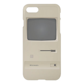 Alte SchuleRetro PC Computer iPhone 7 Hülle