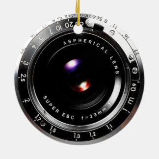 Alte Schulfilm-Kamera Keramik Ornament