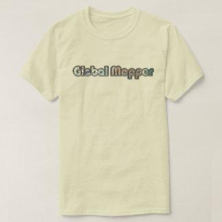 Alte Schulglobaler Kartograph T-Shirt