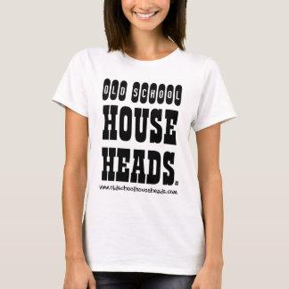 Alte Schulhaus geht Dame T Basic voran T-Shirt