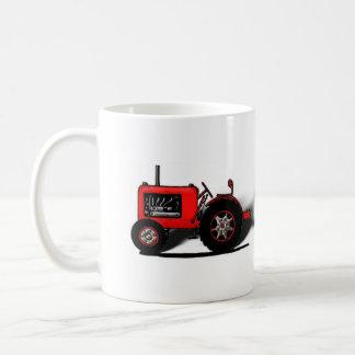 Alte Schultraktor Kaffeetasse
