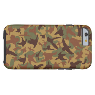 Alte SchulVintager Enten-Jagd-Camouflage-Fall Tough iPhone 6 Hülle