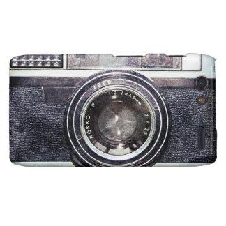 Alte schwarze Kamera Motorola Droid RAZR Cover