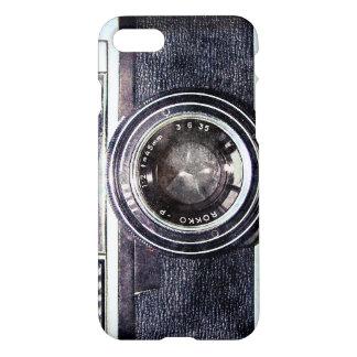 Alte schwarze Kamera iPhone 7 Hülle