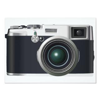 Alte schwarze Kamera Karte
