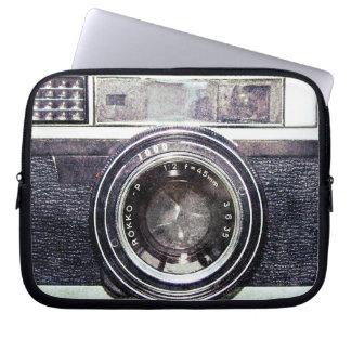 Alte schwarze Kamera Laptopschutzhülle