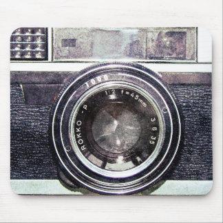 Alte schwarze Kamera Mousepads