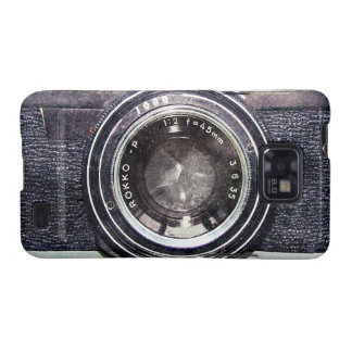 Alte schwarze Kamera Samsung Galaxy S2 Hülle