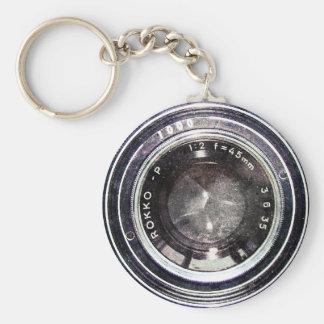 Alte schwarze Kamera Schlüsselanhänger