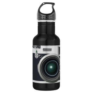 Alte schwarze Kamera Trinkflasche