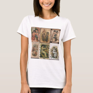Alte Shanghai-Plakat-Frauen T-Shirt