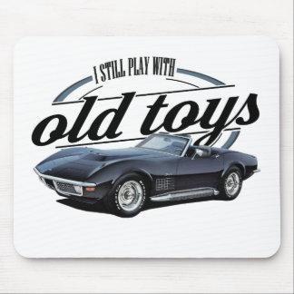 alte Spielwaren schwarzes vette Mousepad