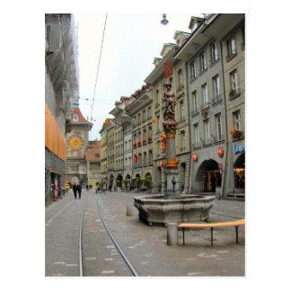 Alte Stadt Berns - mittelalterlicher Glockenturm u Postkarten