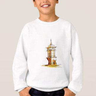 alte Stadt. Brunnen Sweatshirt