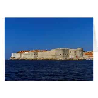 Alte Stadt Dubrovniks, Kroatien Karte