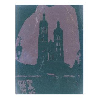 Alte Stadt Krakau Polen Postkarte