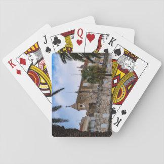 Alte Stadt, Spalte, Kroatien Spielkarten