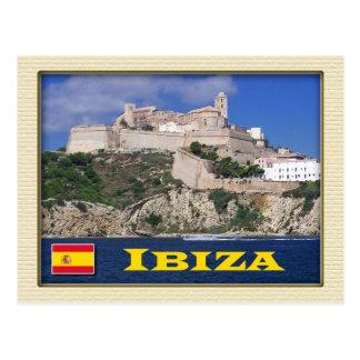 Alte Stadt von Ibiza, die Balearischen Inseln, Spa Postkarte