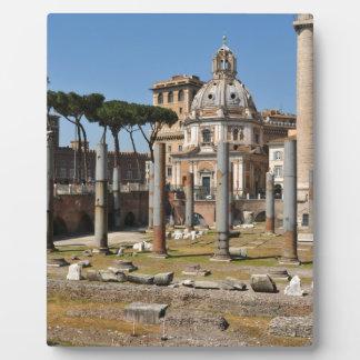 Alte Stadt von Rom, Italien Fotoplatte