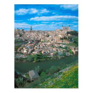 Alte Stadt von Toledo, Spanien Postkarte
