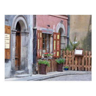 Alte Stadt, Warschau, Polen Postkarte