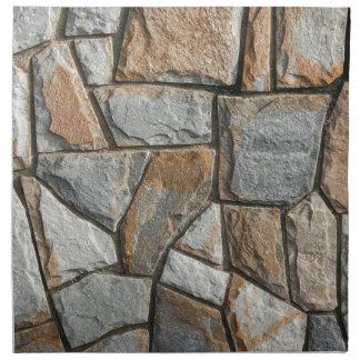 Alte Steinwandstruktur Serviette