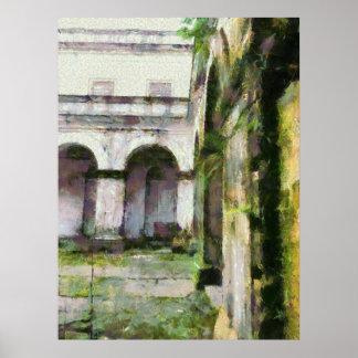 Alte Struktur Poster