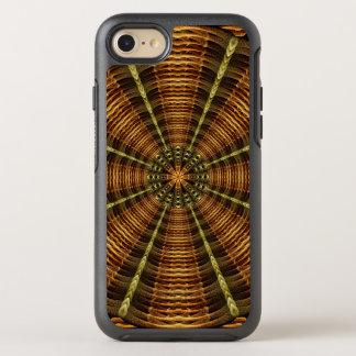 Alte Tempel-Mandala OtterBox Symmetry iPhone 8/7 Hülle