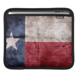 Alte Texas-Flagge Sleeves Für iPads