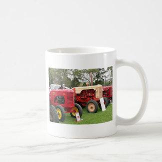 Alte Traktor-landwirtschaftliche Maschinen 2 Kaffeetasse
