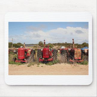 Alte Traktor-landwirtschaftliche Maschinen Mousepad