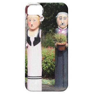 Alte verheiratete Paarskulpturen Hülle Fürs iPhone 5
