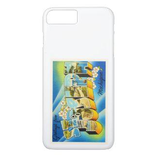 Alte Vintage Reise-Andenken St Joseph Michigan MI iPhone 8 Plus/7 Plus Hülle