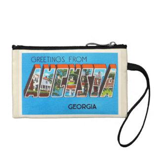 Alte Vintage Reise-Postkarte Augustas Georgia GA