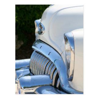 Alte weiße Buick-Postkarte Postkarte