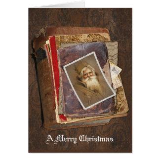 Alte Welt Sankt, frohen Weihnachten Karten