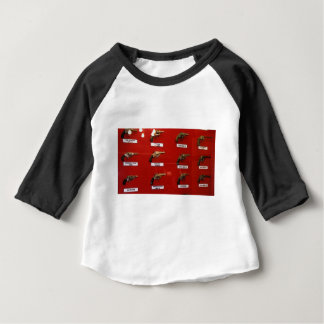 Alte Westc$sechs-tireur Baby T-shirt