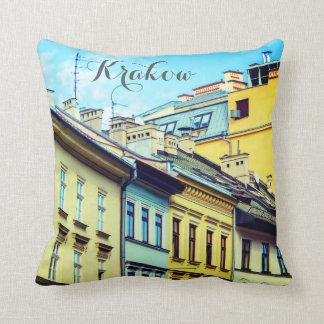 Alte Wohnungsebenen Krakaus, Polen, Kissen
