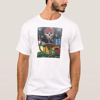 Alte Zeit Saltbox, durch Lori Everett T-Shirt