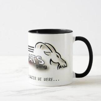 Alte Ziegen-Gruppen-Tasse Tasse