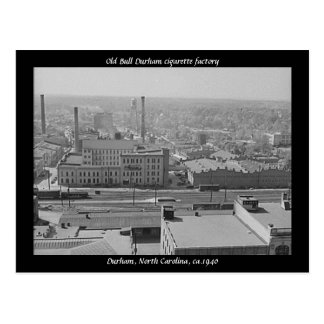 Alte Zigarettenfabrik Stiers Durham Postkarte