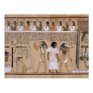 Alter Ägypter Postkarte