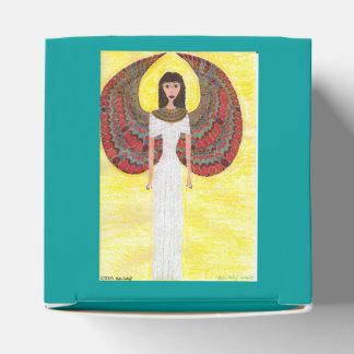 Alter ägyptischer Engel Geschenkschachtel