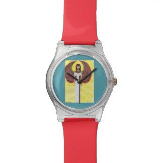 Alter ägyptischer Engel Uhr