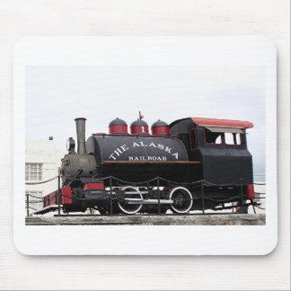 Alter Alaska-Eisenbahndampf-Motor, Anchorage, AK Mauspads