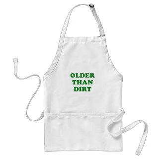 Älter als Schmutz Schürze