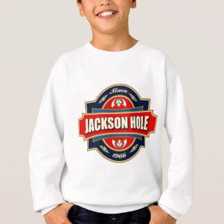 Alter Aufkleber Jackson Hole Sweatshirt