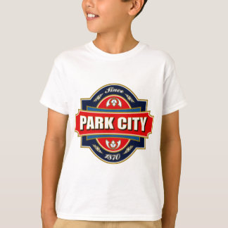 Alter Aufkleber Park City T-Shirt