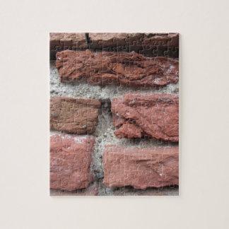 Alter Backsteinmauerhintergrund Puzzle