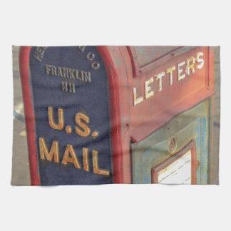 Alter Briefkasten Handtuch
